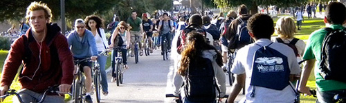 The Top 10 Ways to Encourage Bicycling Among College Students
