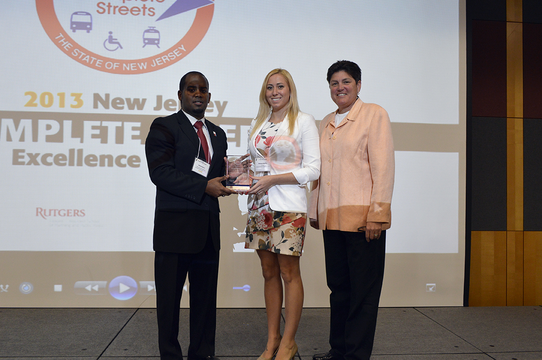 Awardees at the 2013 New Jersey Complete Streets Summit