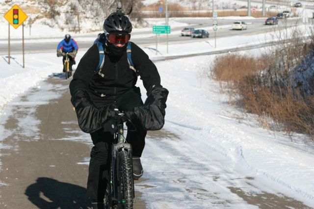 Cycling Safely in Winter