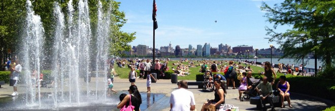Constructing Parks for Diversifying Communities