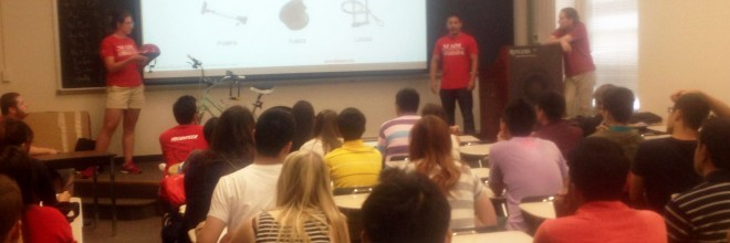Rutgers International Student Orientation: Bicycle Safety Workshop
