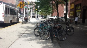 Hoboken bicycle parking