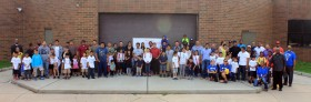 New Brunswick Celebrates Fathers Day with Walk to School Event