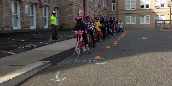 Learning how to bicycle in Montclair, NJ