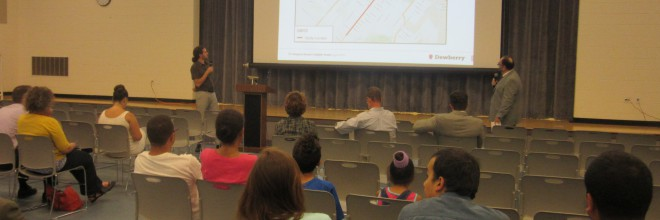 Livingston Avenue Road Diet August Design Meeting