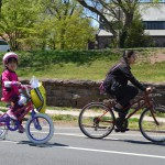 Ciclovia is great for families.