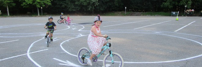 Ramsey hosts first Bicycle Rodeo