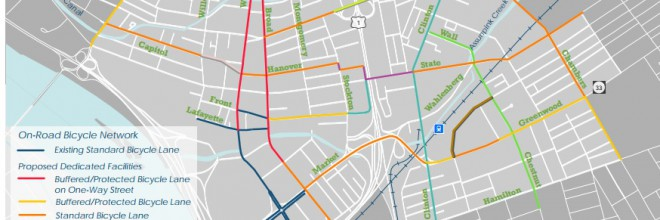 Downtown Trenton Bicycle and Pedestrian Plan Released