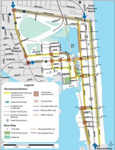 Map of recommendations, from the Bay Head plan