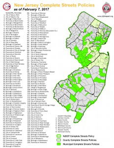 Complete Streets in New Jersey
