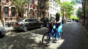 Citi Bike in Jersey City (image via chicpeajc)