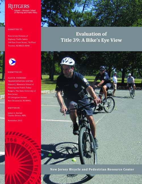 Evaluation of Title 39: A Bike&#8217;s Eye View Training (2015) </br></br>
