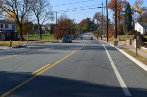 "A ""road diet"" on a rural road in Passaic County enhanced safety for all road users"
