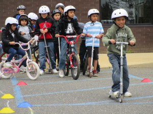 Kids at the Freehold Bike Rodeo