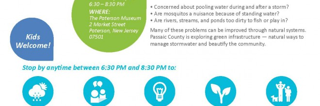 Learn about Passaic County Green Infrastructure Plan!