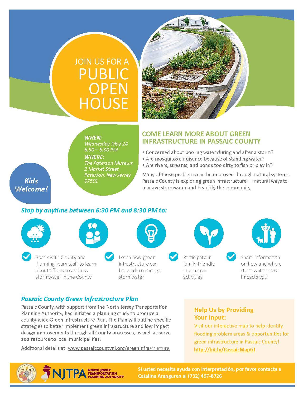 Learn About Passaic County Green Infrastructure Plan