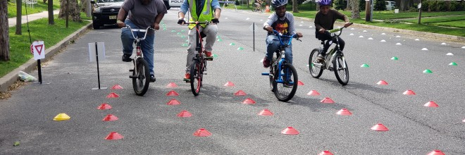 NJAIM Continues Bike Rodeo Efforts During Summer Months