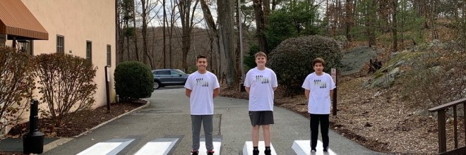 H.S. Students Design 3D Crosswalk to Improve Pedestrian Safety