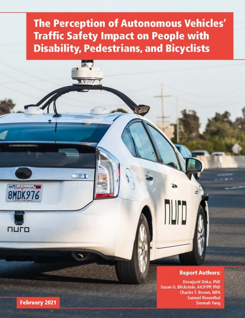 Perception of Autonomous Vehicles' Traffic Safety Impact on Vulnerable Road Users (2021)