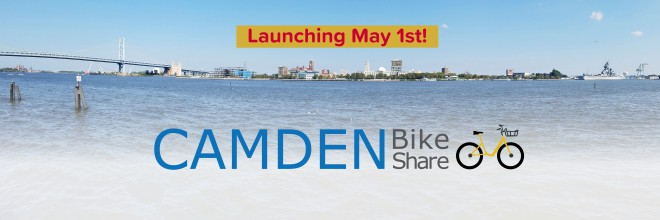 Camden Bike Share Launches May 1st!