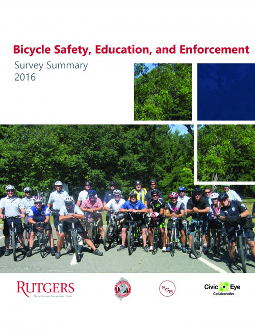 Bicycle Safety, Education, and Enforcement</br> Survey Summary (2017)</br>