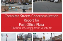 Cranford Complete Streets Conceptualization Report for Post Office Plaza (2019)