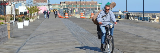 What you need to know before biking on the boardwalks this summer!