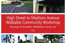 Dunellen: High Street to Madison Avenue Walkable Community Workshop (2020)