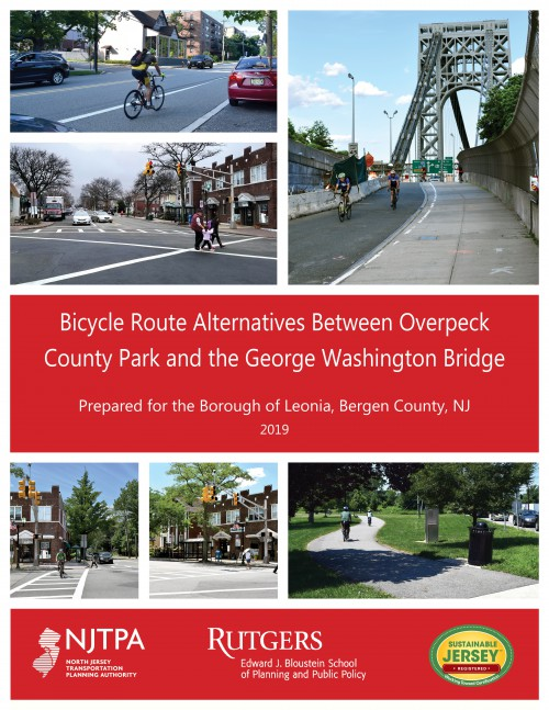 Bicycle Route Alternatives Between Overpeck County Park and the GWB (2019)