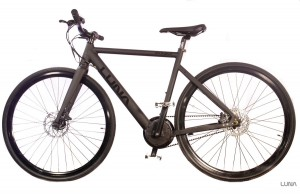 Some e-bikes are nearly indistinguishable from regular bicycles, such as this Luna Fixed Stealth Ebike.