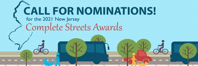 Nominations are open for the 2021 Complete Streets Awards!