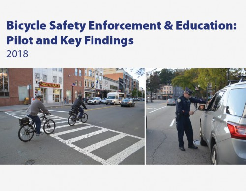 Bicycle Safety Enforcement & Education: Pilot and Key Findings (2018)
