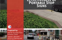 Evaluating the Effectiveness of Portable Stop Signs </br> (2019)