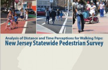 Analysis of Distance & Time Perceptions for Walking Trips: </br> NJ Statewide Survey (2017)