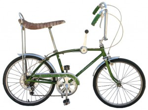 Schwinn Sting-Ray, one of the most popular bicycles of the 1960s (Source: Wikimedia).